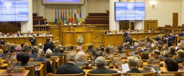 Заседание Межпарламентской Ассамблеи государств-участников СНГ. Пресс-служба Минобрнауки России